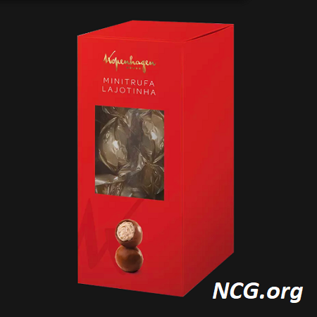 Mini trufa sem gluten - Chocolate Kopenhagen tem gluten ? Veja aqui a resposta do SAC - NaoContemGluten.ORG