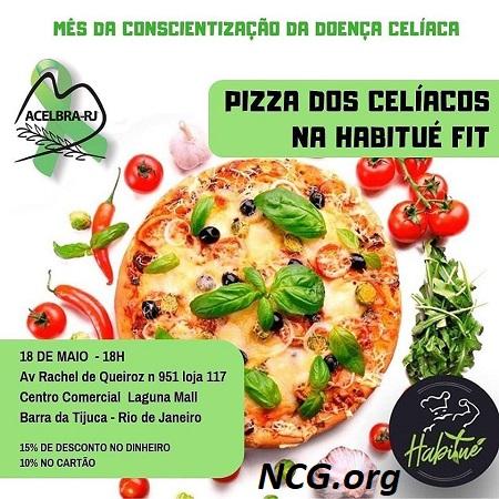 Eventos do mês da conscientização da doença celíaca - Rio de Janeiro RJ - NaoContemGluten.ORG