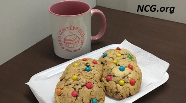 Cookie americano sem gluten - Cookie americano na Não Contém Glúten by Silvia Kawaguti - NaoContemgluten.ORG