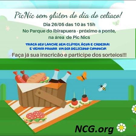 Eventos do mês da conscientização da doença celíaca - São Paulo SP - NaoContemGluten.ORG