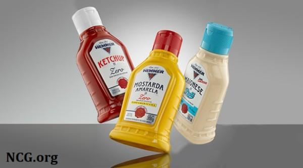 Ketchup e mostarda Hemmer contém gluten ? - NaoContemGluten.ORG