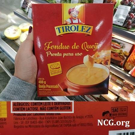 Queijos Tirolez contém gluten ? Confira aqui a resposta do SAC !