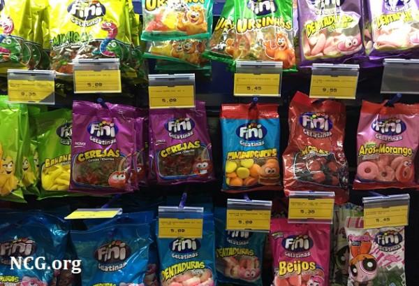 Fini doces : Tubes e balas contém gluten ? Confira a resposta do SAC