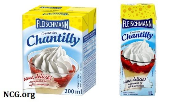 Creme tipo Chantilly fleischmann contém gluten ?? Confira a resposta do SAC