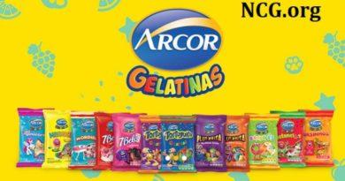 Balas de gelatina Arcor contém gluten ?