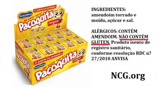 Paçoquita Santa Helena contém gluten? Confira a resposta do SAC