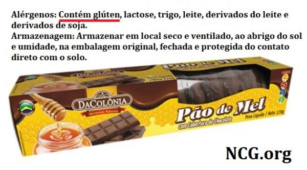 Produtos DaColonia contém gluten? Resposta do SAC