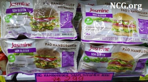 Pão de hambúrguer da Jasmine Zé da Bolacha