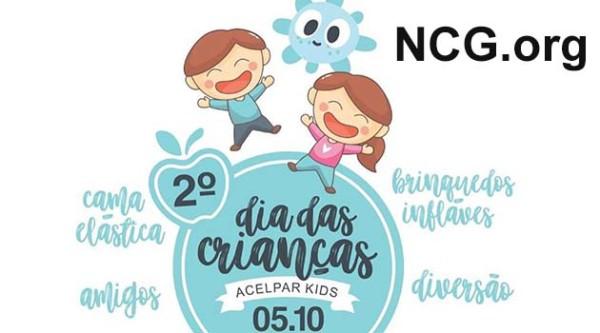 Evento gratuito : 2º Dia das Crianças - Acelpar Kids