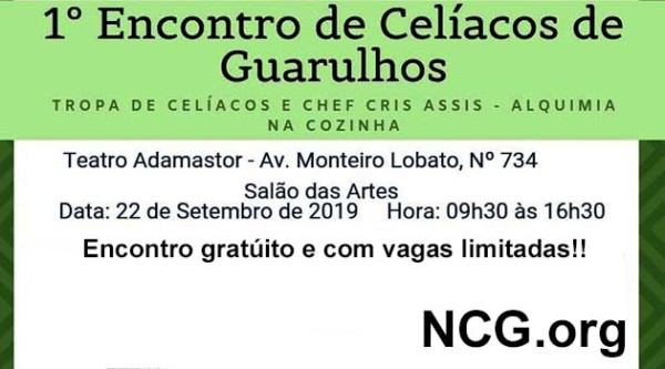 IEncontro de celíacos de Guarulhos - SP