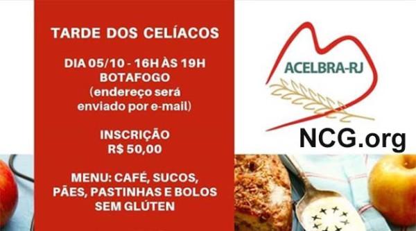 Tarde dos Celíacos : Evento organizado pela ACELBRA-RJ