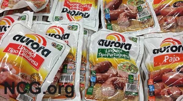 Produtos Aurora contém gluten? Resposta do SAC