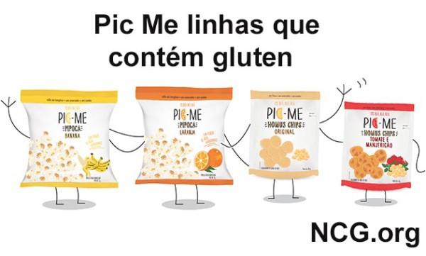 Produtos Pic Me contém gluten? Confira aqui a resposta do SAC