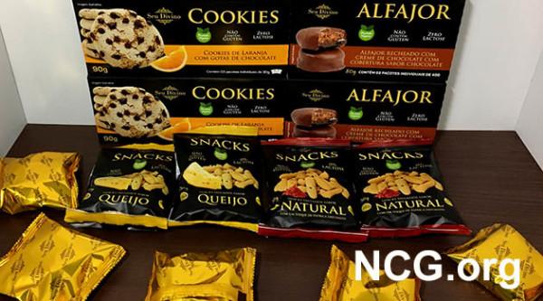 Biscoitos Seu Divino contém gluten? Resposta do SAC