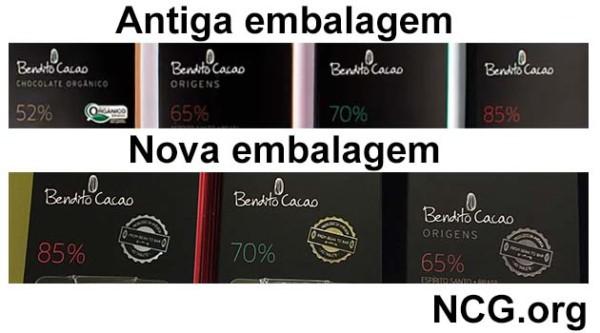 Cacau Show : Bendito Cacau chocolates sem gluten seguro para celíacos!