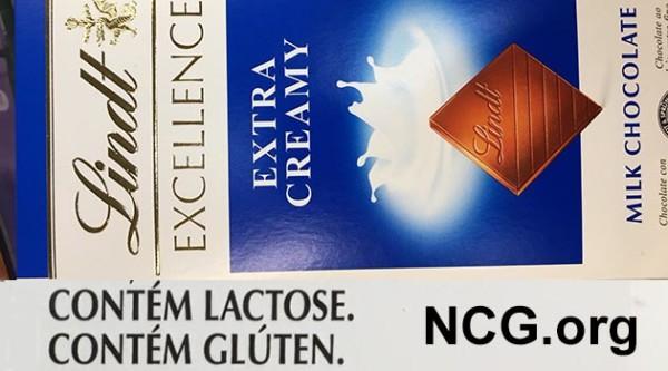 Chocolate lindt contém gluten ? Confira a resposta do SAC
