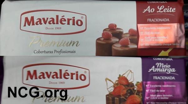 Chocolate Mavalério tem gluten? Confira a resposta do SAC