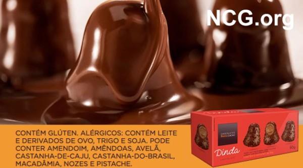 Chocolates Brasil Cacau tem gluten? Confira a resposta do SAC