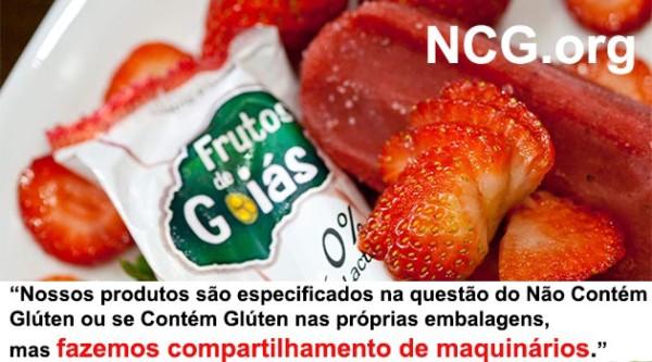 Sorvetes Frutos de Goiás contém gluten ? Resposta do SAC