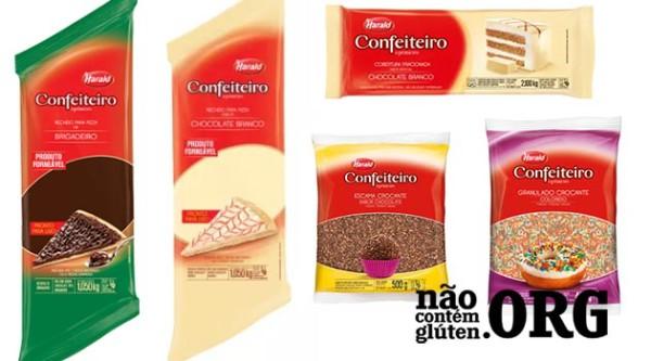 Chocolate confeiteiro contém gluten ? Confira a resposta do SAC