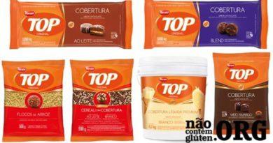 Chocolate Top tem gluten? Confira a resposta do SAC