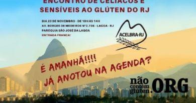 Encontro de Celíacos e Sensíveis ao Gluten do RJ