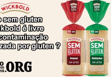 Pão sem gluten Wickbold é livre de contaminação cruzada por gluten ?