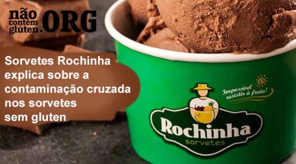 Sorvetes Rochinha explica sobre a contaminação cruzada nos sorvetes