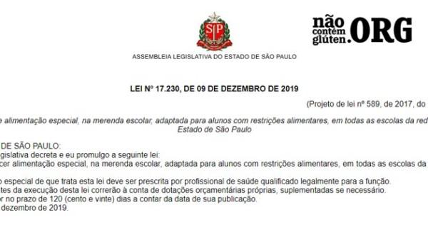 Estado SP garante merenda escolar adaptada para restrições alimentares
