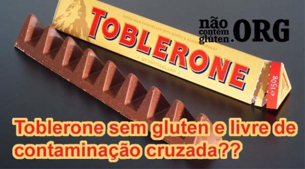 Toblerone tem gluten ? Resposta do SAC