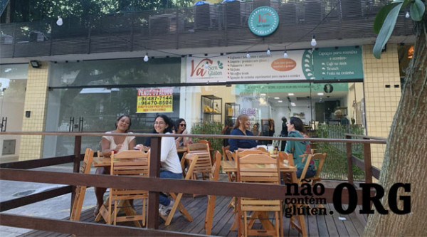 Vá Sem Gluten: Cafeteria sem gluten