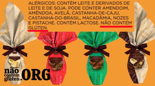 Vai ter Ovo de Páscoa sem gluten da Brasil Cacau em 2020?