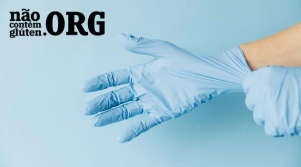 Uso de luvas minimiza a contaminação cruzada por gluten no dia-a-dia?